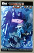 Transformers Livio Ramondelli Sketchbook (2011) 1
