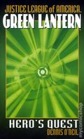 Justice League of America Green Lantern Hero's Quest PB (2005 Pocket Star Books Novel) 1-1ST