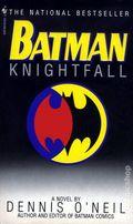 Batman Knightfall PB (1995 Bantam Novel) 1-1ST