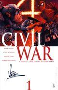 Civil War (2006 Marvel) 1A.DF.SIGNED.A