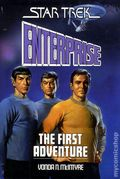 Star Trek Enterprise The First Adventure HC (1986 Pocket Novel) 1-1ST