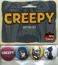Creepy Button Set (2009 dark Horse) SET-01