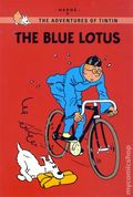 Adventures of Tintin The Blue Lotus GN (2011 LBC) Young Reader's Edition 1-1ST
