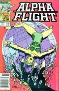 Alpha Flight (1983 1st Series) Mark Jewelers 4MJ