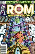 Rom (1979-1986 Marvel) Mark Jewelers 38MJ