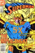 Superman (1939 1st Series) Mark Jewelers 418MJ
