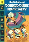 Dell Giant Donald Duck Beach Party (1954) 3A