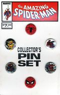 Amazing Spider-Man Collector's Pin Set (1989 Marvel) SET-01