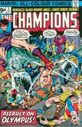 Champions (1975-1978 Marvel 1st Series) UK Edition 3UK