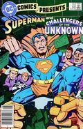 DC Comics Presents (1978 DC) Mark Jewelers 84MJ