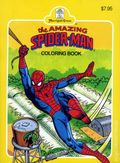 Amazing Spider-Man Coloring Book SC (1990 Merrigold Press) 1-1ST