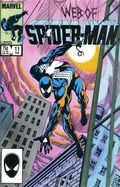 Web of Spider-Man (1985 1st Series) Mark Jewelers 11MJ
