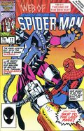 Web of Spider-Man (1985 1st Series) Mark Jewelers 17MJ
