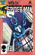 Web of Spider-Man (1985 1st Series) Mark Jewelers 22MJ
