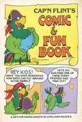 Cap'n Flint's Comic & Fun Book (1983) Long John Silver's Promotional 1