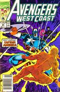 Avengers West Coast (1985) Mark Jewelers 64MJ