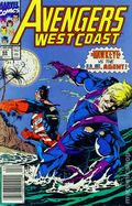 Avengers West Coast (1985) Mark Jewelers 69MJ