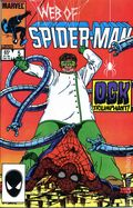 Web of Spider-Man (1985 1st Series) Mark Jewelers 5MJ