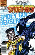 Web of Spider-Man (1985 1st Series) Mark Jewelers 13MJ