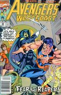 Avengers West Coast (1985) Mark Jewelers 65MJ