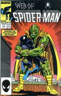 Web of Spider-Man (1985 1st Series) Mark Jewelers 25MJ