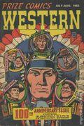 Prize Comics Western (1948) 100