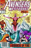 Avengers West Coast (1985) Mark Jewelers 71MJ