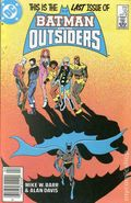 Batman and the Outsiders (1983) Mark Jewelers 32MJ