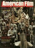 American Film (1977-1992 American Film Institute) Magazine Vol. 6 #5
