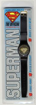 Superman The Official Licensed Watch (1996) Special Collectors Edition WATCH