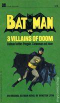 Batman vs. Three Villains of Doom PB (1966 Signet Novel) 1-REP