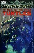 Infestation 2 Teenage Mutant Ninja Turtles (2012 IDW) 1B