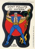 Topps Marvel Comic Book Heroes Sticker Trading Cards (1975) SUB-MARINER