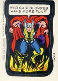 Topps Marvel Comic Book Heroes Sticker Trading Cards (1975) THOR-2