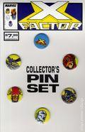 X-Factor Collector's Pin Set (1989 Marvel) SET-01
