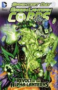 Green Lantern Corps Revolt of the Alpha Lanterns TPB (2012 DC) 1-1ST