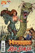 Witchblade Red Sonja (2012 Dynamite) 1C