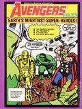 Comics File Magazine Spotlight on the Avengers Files SC (1986 Psi Fi Movie Press) 1-1ST