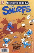 Smurfs Disney Fairies (2012 Papercutz) FCBD 0