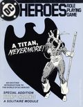 DC Heroes Role-Playing Game A Titan Nevermore SC (1985 Mayfair) 1-1ST