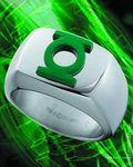 Green Lantern Stainless Steel Emblem Ring (2011) SIZE-10G