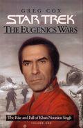 Star Trek The Eugenics Wars HC (2001 Pocket Novel) The Rise and Fall of Khan Noonien Singh 1-1ST