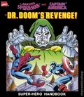 Amazing Spider-Man and Captain America in Dr. Doom's Revenge Super-Hero Handbook SC (1989) 1-1ST
