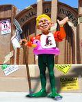MAD Just-Us League of Stupid Heroes Figure (2012 DC) FIG-01