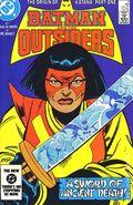 Batman and the Outsiders (1983) Mark Jewelers 11MJ