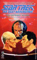 Star Trek The Next Generation The Captains' Honor PB (1989 Pocket Novel) 1-REP