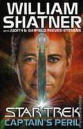 Star Trek Captain's Peril HC (2002 Novel) 1-1ST