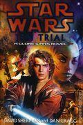 Star Wars Jedi Trial HC (2004 A Clone Wars Novel) 1A-1ST