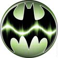 Batman Logo Button (2012 Ata-Boy) ITEM#82000