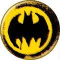 Batman Logo Button (2012 Ata-Boy) ITEM#82002